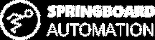 Automation logo white