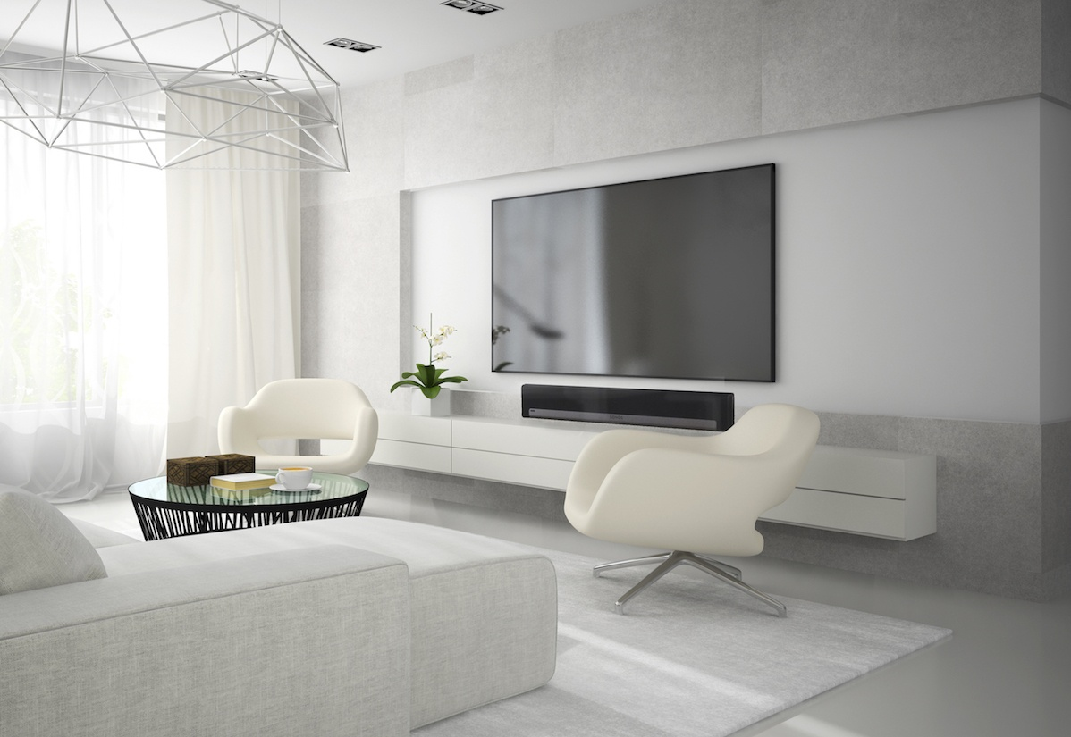 Stylish home theater experience