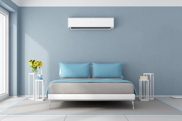 Temperature control in bedroom