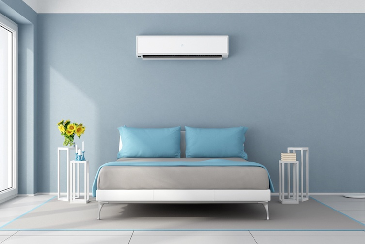 Temperature control in bedroom